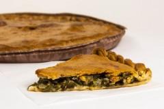 Empanada de Algas Wakame con Mejillones