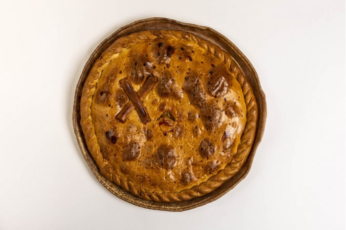 Empanada de Bacalao sin pasas