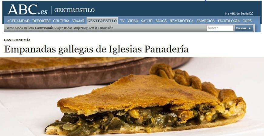 Empandas gallegas delicatessen  Por Abc.es